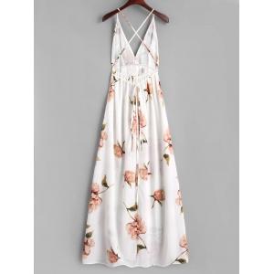 Risultati immagini per https://www.rosegal.com/maxi-dresses/criss-cross-slit-floral-maxi-dress-1730845.html
