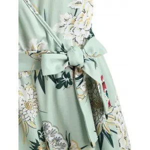 Risultati immagini per https://www.rosegal.com/jumpsuits-rompers/floral-slit-wrap-wide-leg-jumpsuit-2238392.html