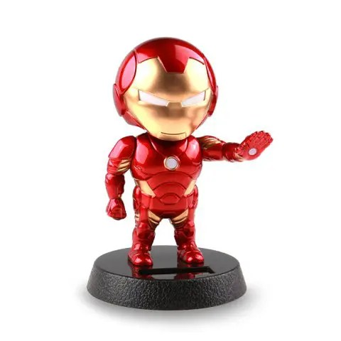 2019 Cute Solar Toy Creative Cartoon Man Head Shaking