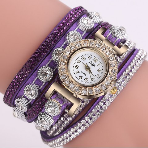 Risultati immagini per https://www.rosegal.com/women-s-watches/duoya-d196-women-wrap-around-quartz-wrist-watch-with-diamond-purple-1670298.html