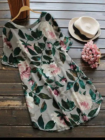 Zaful Casual Floral A-Line Dress