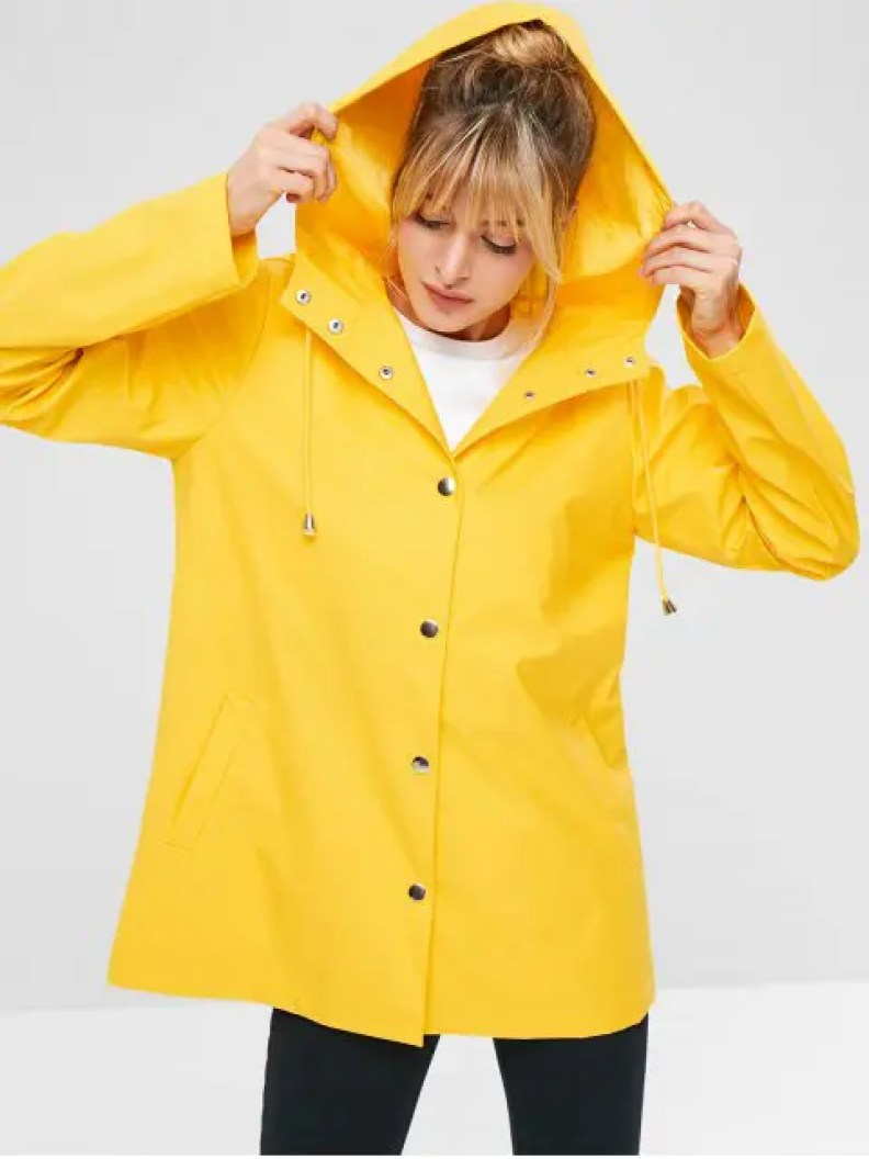 Zaful waterproof jacket