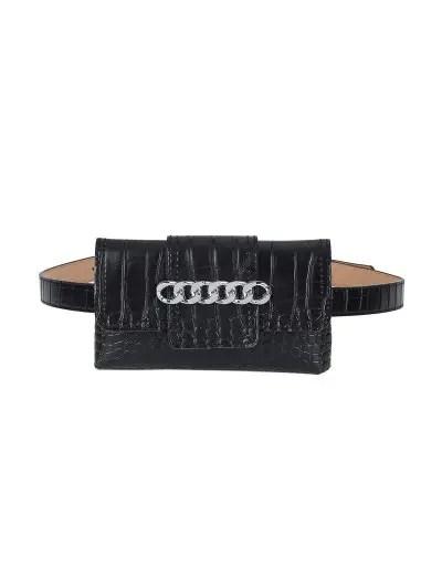Stylish Solid Color Funny Bag Belt