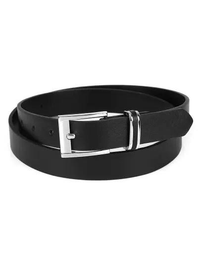 PU Leather Metal Buckle Retro Belt