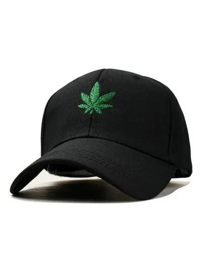 Maple Leaf Embroidery Baseball Hat