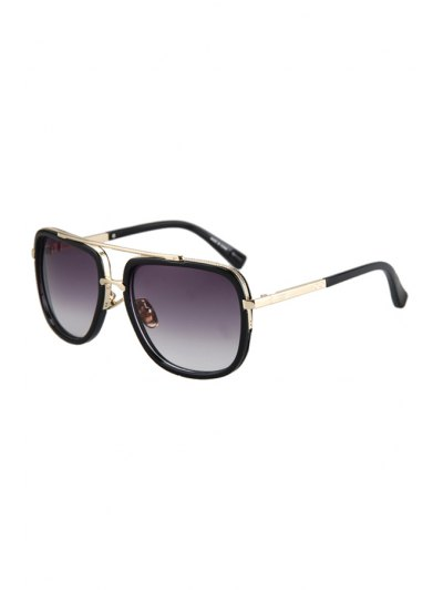 Alloy Match Quadrate Frame Sunglasses For Women