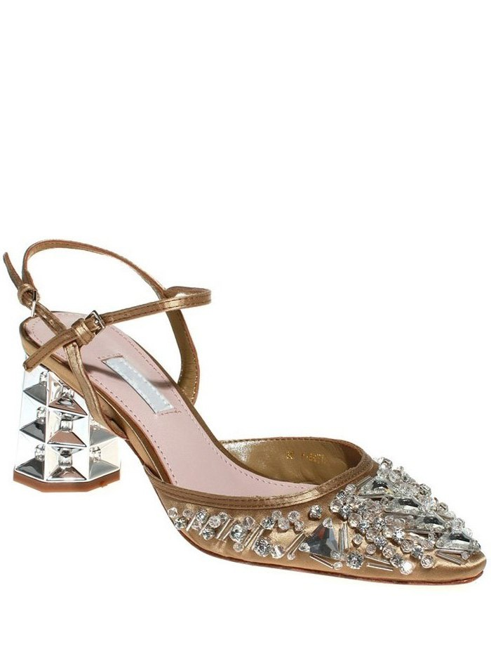 Rhinestone Design Sandals For Women