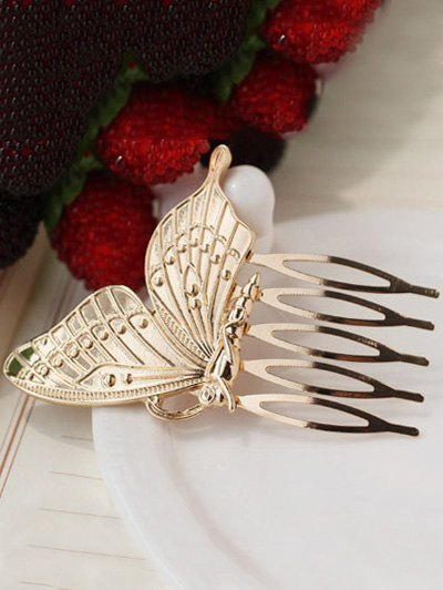 Carving Butterfly Hair Comb