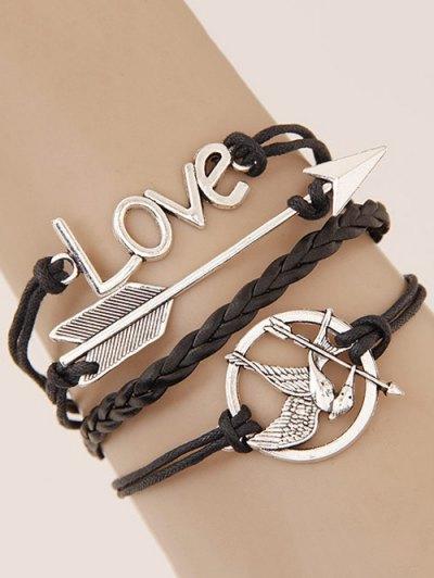 Irenidae Arrow Braided Bracelet