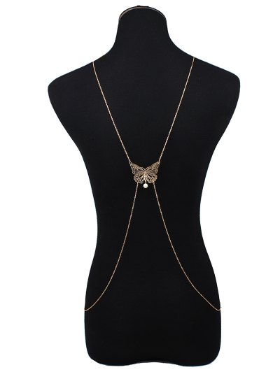 Hollowed Butterfly Body Chain