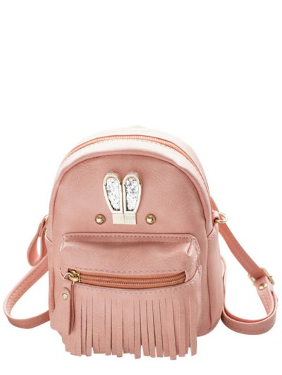 Rabbit Ears Fringe Backpack