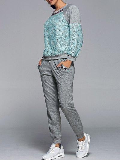 Sweatshirt With Pants Twinset