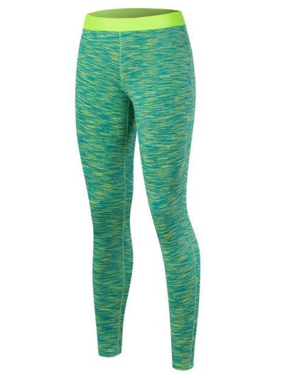 Printed High Waisted Yoga Leggings