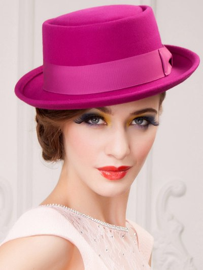 Bowknot Fedora Hat