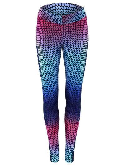 Print Skinny Gym Leggings