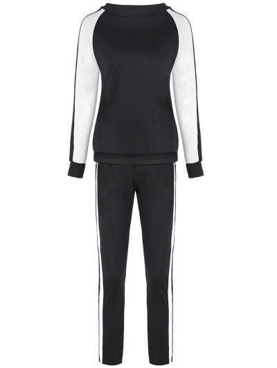 Raglan Sleeve Sweatshirt and Sport Pants