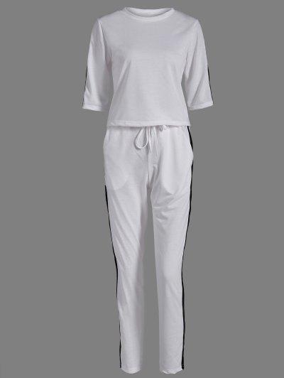 T Shirt and Drawstring Sport Pants
