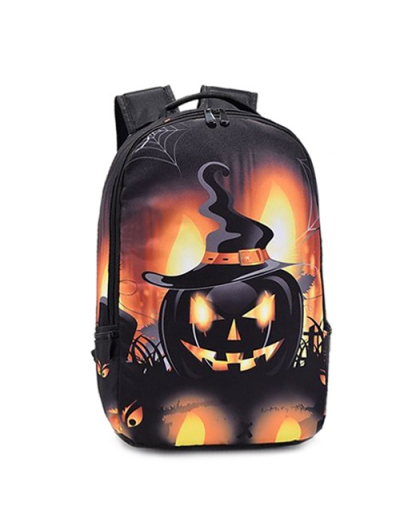 Colour Spliced Halloween Backpack