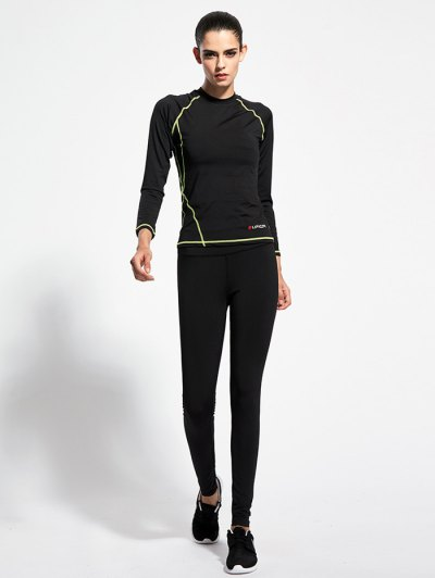 Skinny Yoga T Shirt With Pants