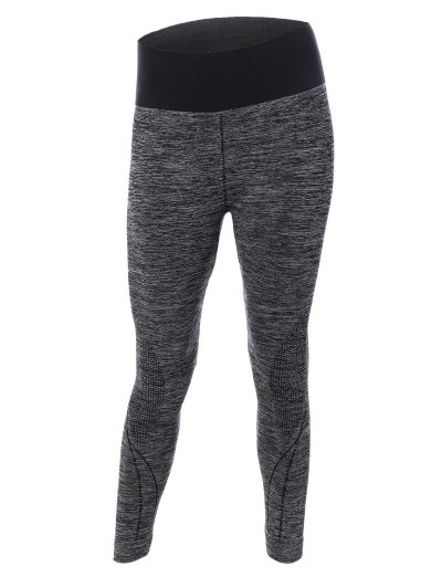 Color Block Skinny Running Pants