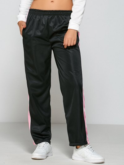 Active Color Block Track Pants