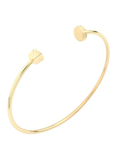 Alloy Triangle Cuff Bracelet