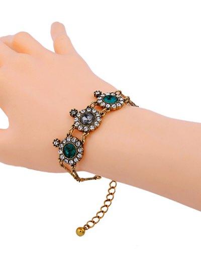 Faux Crystal Rhinestone Bracelet