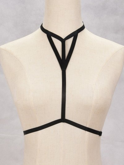 Hollowed Harness Bra Bondage Body Jewelry