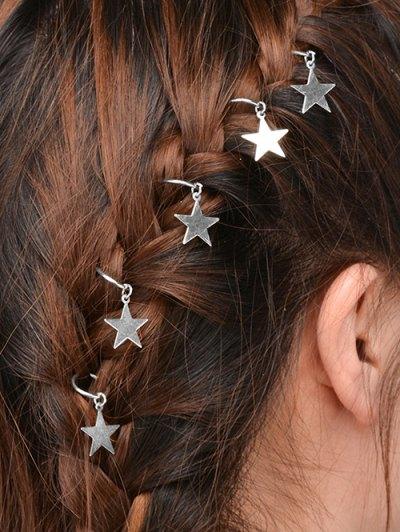 5 PCS Star Hair Accessories