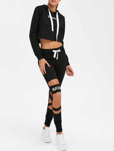 Distressed Gym Suit