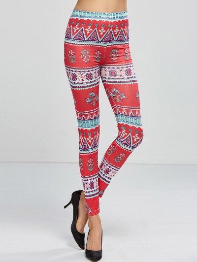 Printed Stretchy Leggings