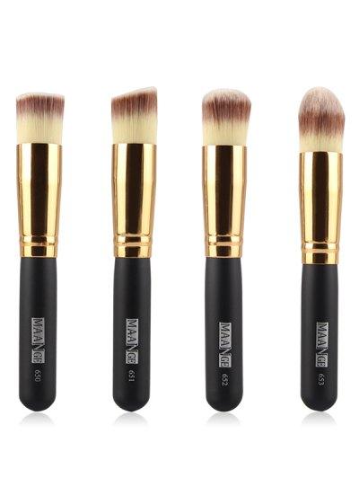 4 Pcs Foundation Makeup Brushes Set