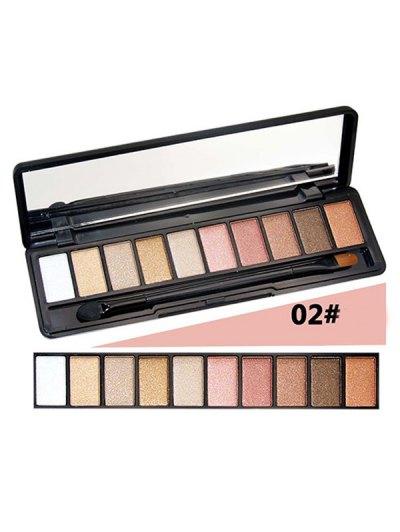 10 Colours Shimmer Matte Eyeshadow Kit