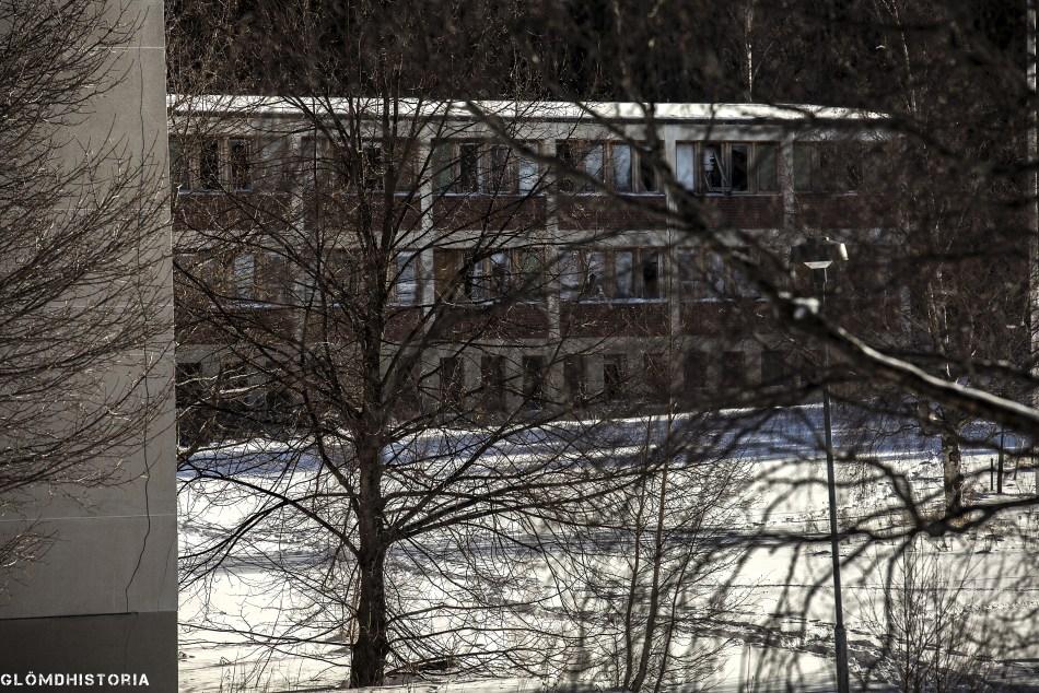 Det övergivna mentalsjukhuset