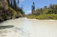 Rivière de sable, Baie d'Oro