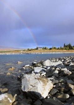 Tekapo - rainbow