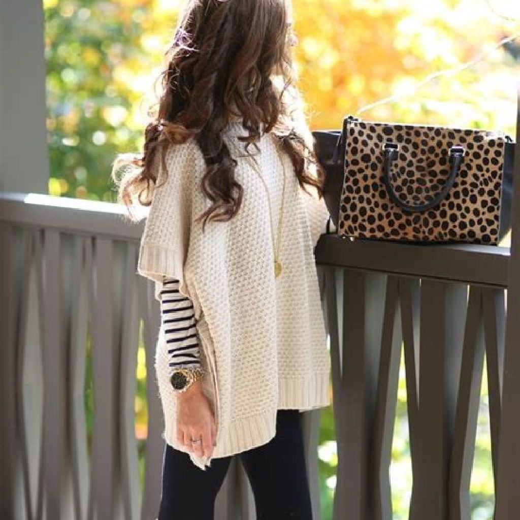 Chic Sweater Combination Ideas Suitable For Fall And Winter 21
