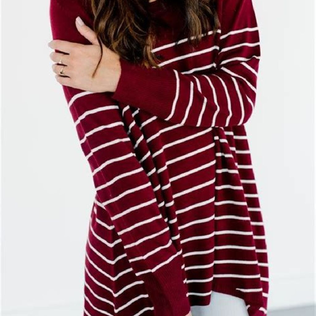 Chic Sweater Combination Ideas Suitable For Fall And Winter 39