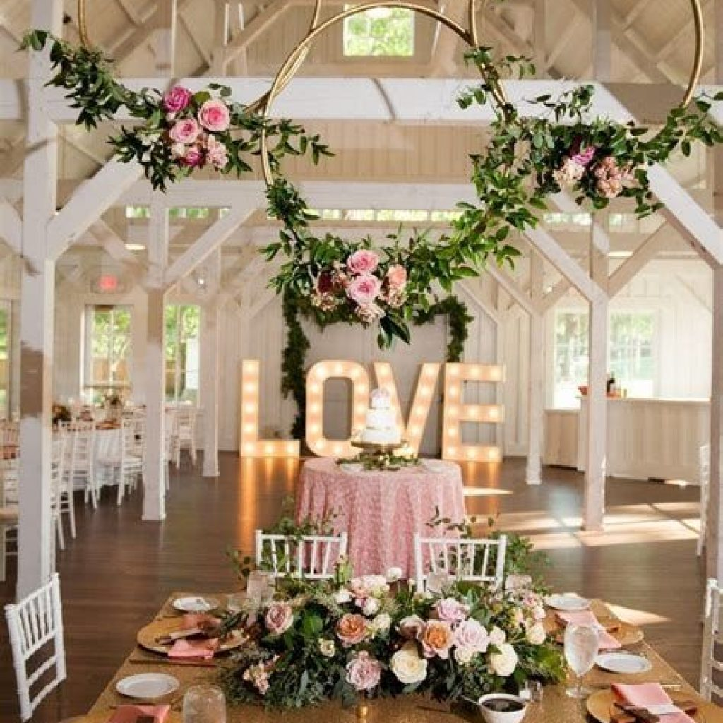 Perfect Country Wedding Decoration Ideas 12