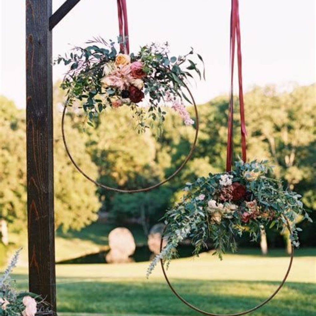 Perfect Country Wedding Decoration Ideas 46
