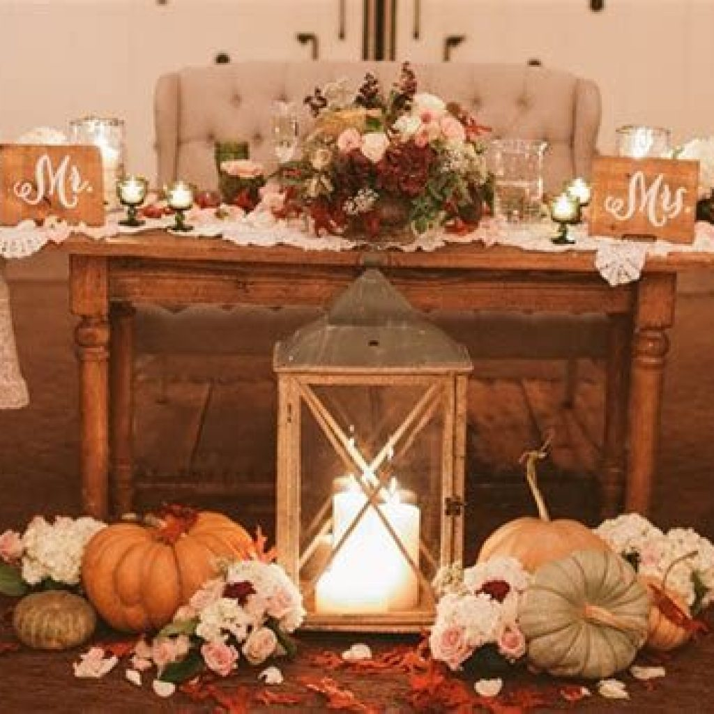 Romantic Rustic Wedding Decor Ideas 11