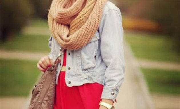 Stunning Fall Outfits Ideas With Scarves 18