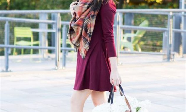 Stunning Fall Outfits Ideas With Scarves 24