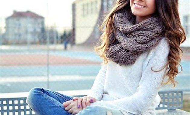Stunning Fall Outfits Ideas With Scarves 30