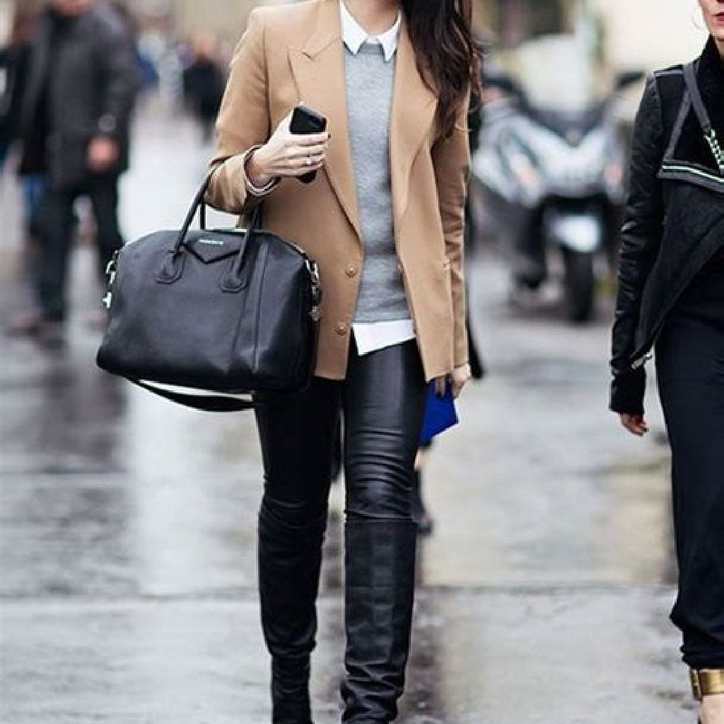 Stunning Fall Street Style Outfits Ideas For Women To Upgrade Your Look 31