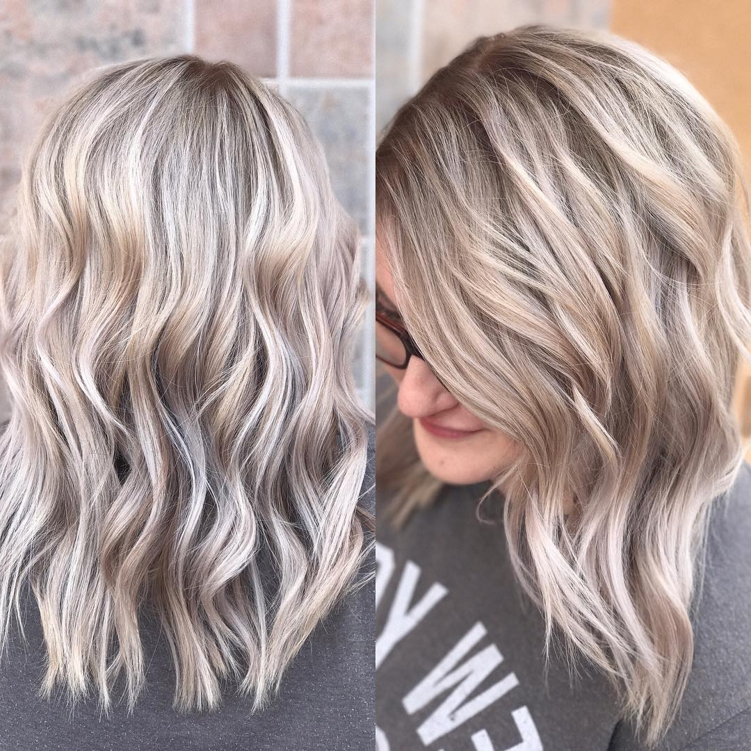 10 Everyday Medium Hairstyles For Thick Hair 2021: Easy 10+ Stunning Cute Blonde Hairstyles For Medium Length Hair
