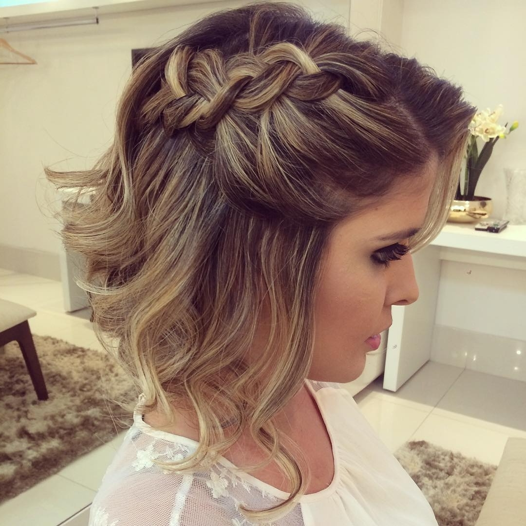 10 Hottest Prom Hairstyles For Short Hair Hairstyles Weekly Beautiful Prom Hairstyles For Medium Length Hair