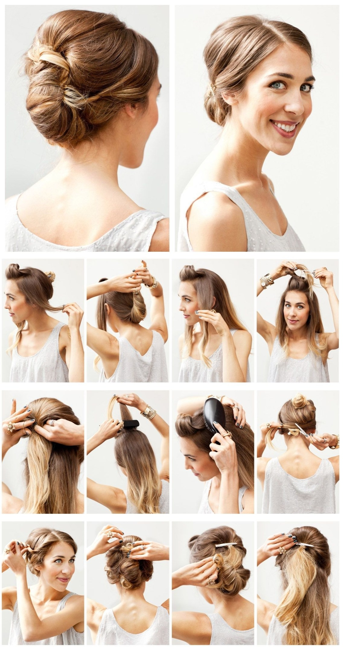 12 Hottest Wedding Hairstyles Tutorials For Brides And 10+ Adorable Put Up Hairstyles For Medium Length Hair