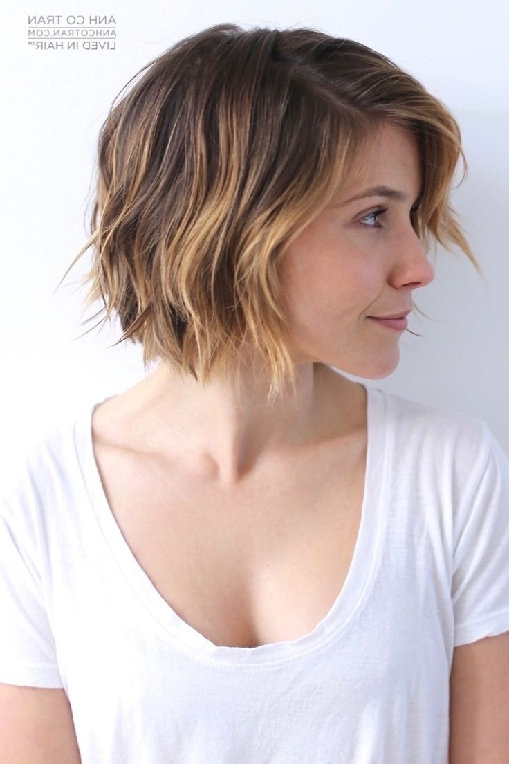 17 Cute Choppy Bob Hairstyles We Love Styles Weekly Short Medium Textured Hairstyles