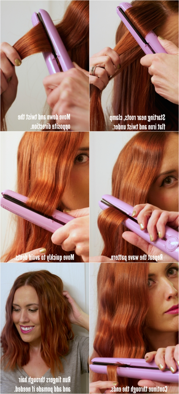 17 Useful Tricks For Anyone Who Uses A Hair Straightener 40+ Awesome Hairstyles For Medium Hair With Straightener